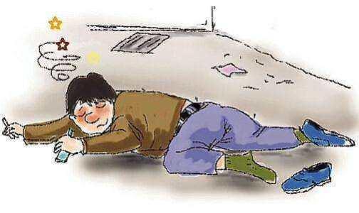 喝醉酒后也会面瘫(口眼歪斜),还留下了面瘫后遗症-在上海佐襄看好的