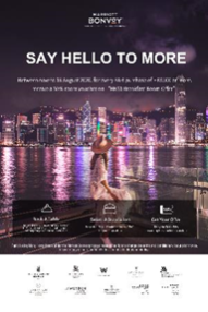 50% Off! Marriott Bonvoy Participating Hotels in HK Staycation Benefits