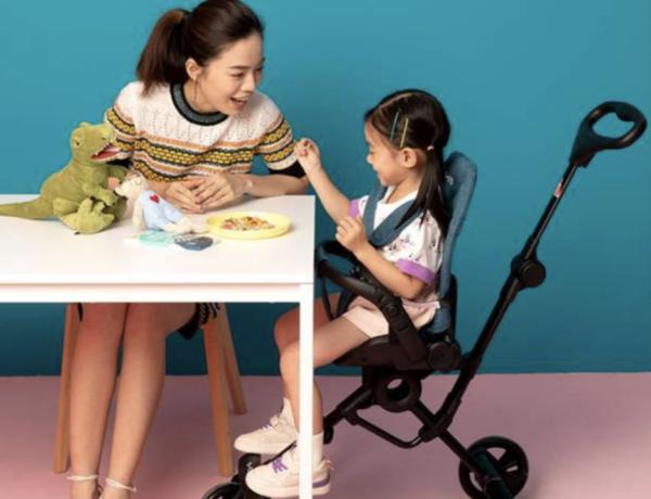 618释放宝妈压力,这款迈古驰克360°散步车帮你全方位看护孩子